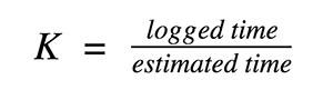 Project Time Estimation Formula