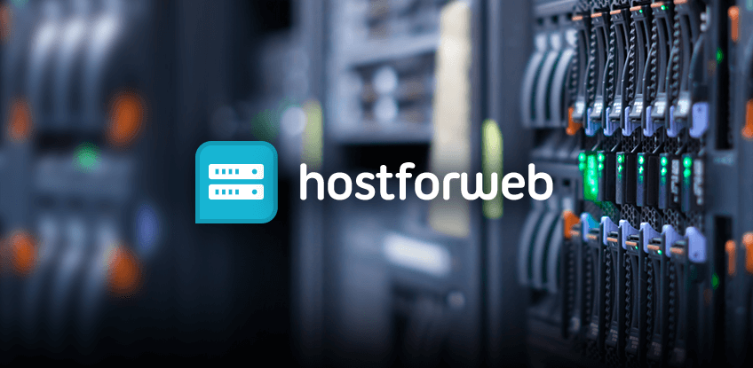 Corporate website for hosting provider preview