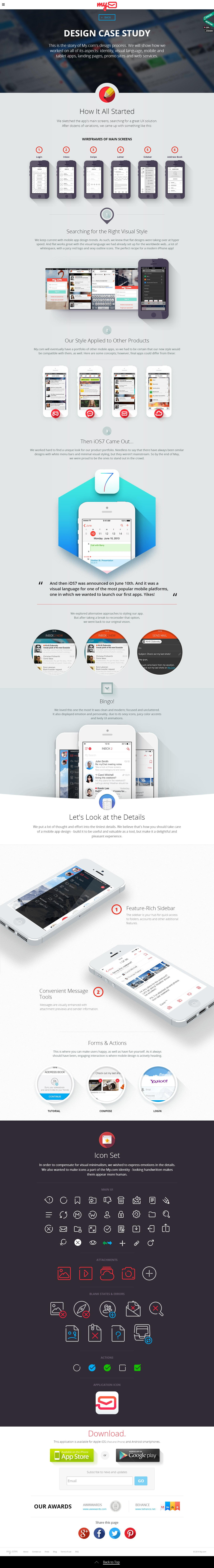 Corporate Website for а Large Email Provider | LOVATA